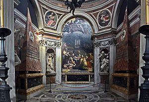 Chigi Chapel - Chigi Chapel, Santa Maria del Popolo, Rome