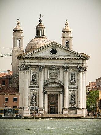 Giorgio Massari - Image: Santa Maria del Rosario Venice 2