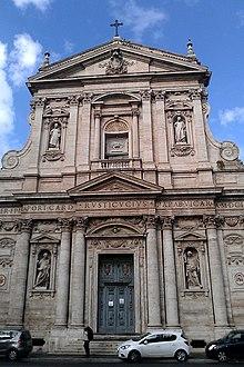 Rome Chrétienne et ses monuments - EUGENE DE LA GOURNERIE - 1867 220px-Santa_Susanna_exterior