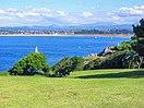 Bahía de Santander, vista desde la península de la Magdalena