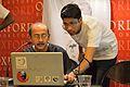 Santanu Chandra and Sukanta Pal - Presentation Session - Wikilearnopedia - Oxford Bookstore - Kolkata 2015-08-23 3665.JPG