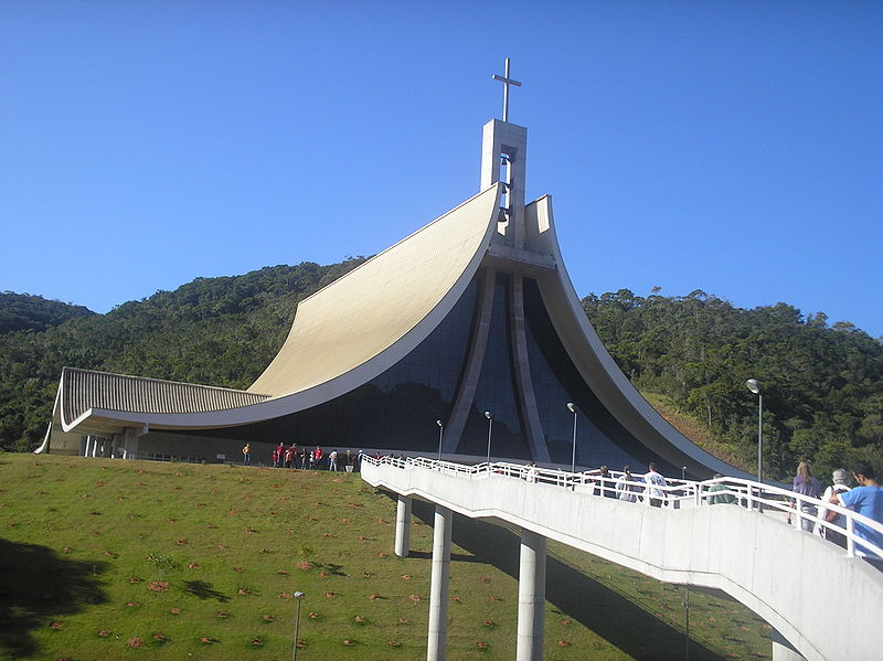 Turismo religioso em Santa Catarina