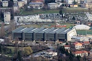 Zetra Olympic Hall, Sarajevo - Image: Sarajevo Hum View 5