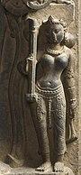 Saraswati met een Eka-tantri vina