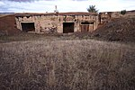 Saryozek, Eastern Missile Silo site Bunker - exterior.jpg