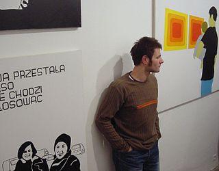 Wilhelm Sasnal Polish painter