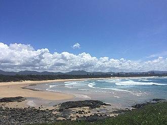 Sawtell, New South Wales - Image: Sawtell Beach