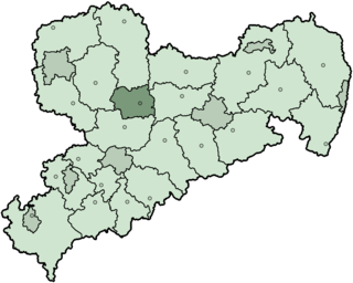 Döbeln (district) District in Saxony, Germany