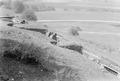 Schützengraben mit Stacheldrahthindernis - CH-BAR - 3237746.tif