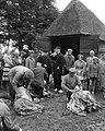 Schapen van de schaapskooi Zuid-Ginkel bij Ede worden geschoren, Bestanddeelnr 909-6294.jpg