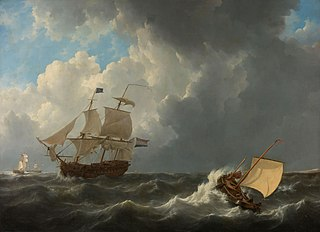 Ships on a Stormy Sea