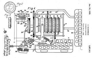Scherbius maskin
