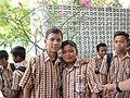 School children in Yogyakarta, Indonesia.jpg