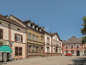 Schopfheim - Image: Schopfheim, straatzicht die Hauptstrasse foto 5 2013 07 26 13.53