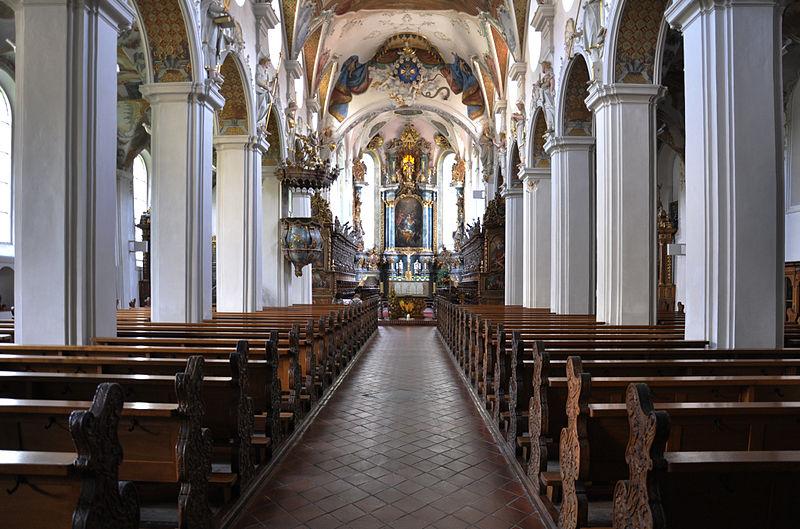 File:Schussenried Klosterkirche Blick zum Chor 01.jpg