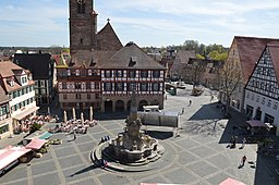 Schwabach Königsplatz, Stadt Schwabach [CC BY-SA 3.0 de (https://creativecommons.org/licenses/by-sa/3.0/de/deed.en)], via Wikimedia Commons