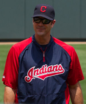 Scott Radinsky - Radinsky as Cleveland Indians pitching coach, 2009