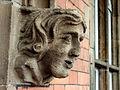 Sculpted face on Shrewsbury railway station - geograph.org.uk - 786252.jpg