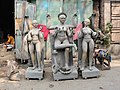 Sculpture workshop in Kumortuli, Kolkata 02.jpg