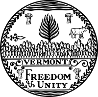 Seal of Vermont (B&W).svg
