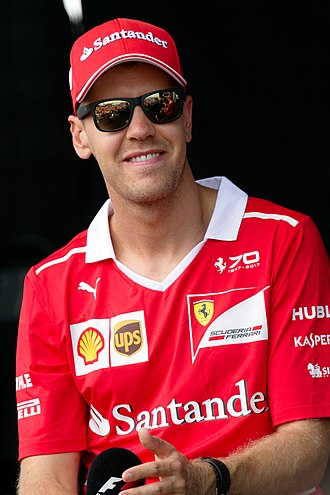 Sebastian Vettel - Vettel at the 2017 Malaysian Grand Prix
