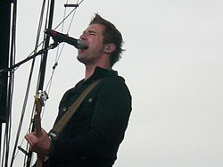 John Vesely (Secondhand Serenade) in concerto nel 2007