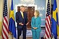 Secretary Clinton Holds a Bilateral Meeting With Swedish Foreign Minister Bildt (5676307548).jpg