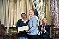 Secretary Clinton With TIP Hero Azezet Habtezghi Kidane (7409854626).jpg