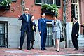 Secretary Kerry Welcomes Japanese Prime Minister Abe, Wife, and Foreign Minister to Boston Home.jpg