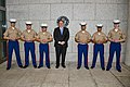Secretary Pompeo Poses for a Photo With the Marine Security Guard Detachment in Panama City (31541277428).jpg