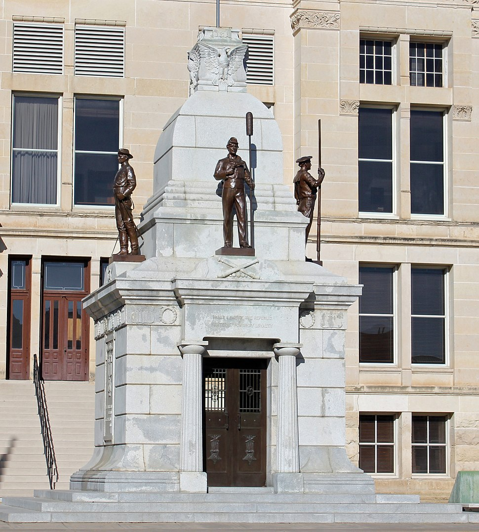 Sedgwick County Memorial Hall and Soldiers and Sailors Monument