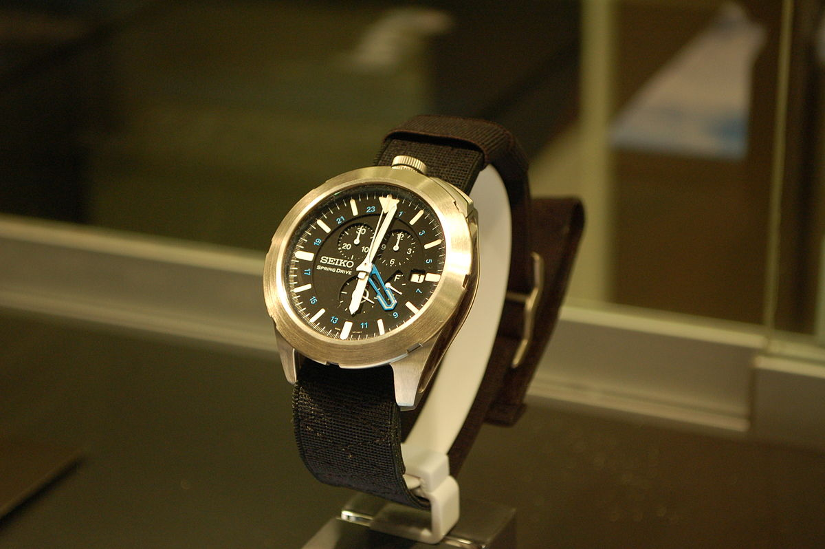 Second Hand Watches >> Spring Drive - Wikipedia