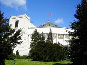 Parliament of Poland - Image: Sejm RP
