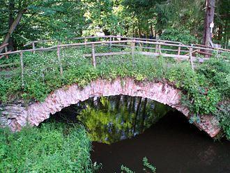 Selke (river) - Old bridge over the Selke near the Selke Mill