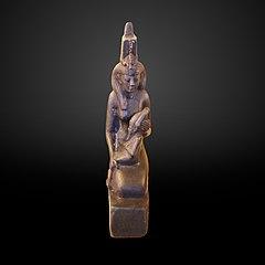 Selkis carrying Osiris-E 20060