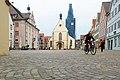 Selten so leer, der Rottenburger Marktplatz (8218583346).jpg
