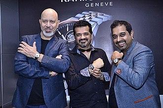Shankar–Ehsaan–Loy - Loy Mendonsa, Ehsaan Noorani and Shankar Mahadevan in September 2014