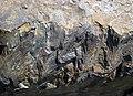 Shatterconed sandstone (Mississagi Formation, Paleoproterozoic, ~2.3-2.4 Ga; Ramsey Lake Road outcrop, Sudbury, Ontario, Canada) 104 (33891101338).jpg