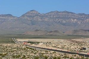 Coyote Springs, Nevada - Coyote Springs development in 2006