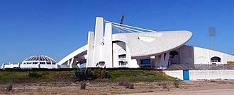 Sheikh Zayed Cricket Stadium - Image: Sheikh Zayed Cricket Stadium Abudhabi UAE panoramio