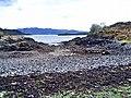 Sheltered bay on Kishorn Island - geograph.org.uk - 1266065.jpg