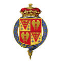 Shield of arms of Edward Seymour, 12th Duke of Somerset, KG, PC.png