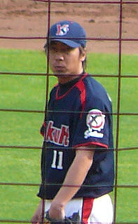 Shingo Takatsu Japanese baseball player