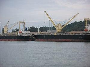 Kuantan Port - Ships alongside Kuantan Port's multi-purpose berth