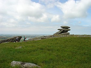 Showery Tor - Image: Showery Tor geograph.org.uk 29811