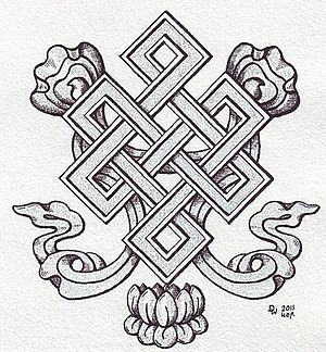 Endless knot - More decorative