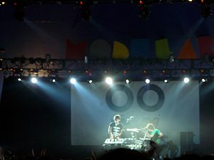 Shy Child - Shy Child at the Oxygen Festival in London 2007