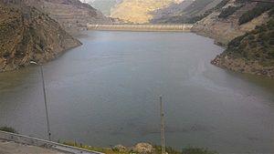 Siah Bishe Pumped Storage Power Plant - Dam of Siah Bishe Pumped Storage Power Plant