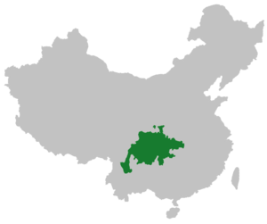 Sichuanese dialects - Image: Sichuanese in China