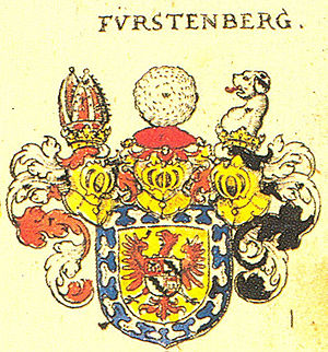 Franz Egon von Fürstenberg-Heiligenberg - Coat of arms of the House of Fürstenberg